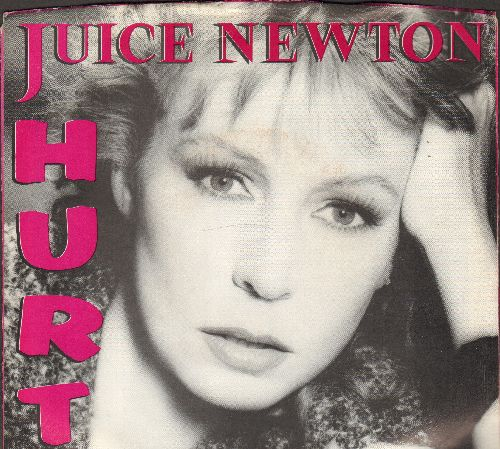 Newton, Juice - Hurt (VERY nice new version of the Timi Yuro Classic)/Eye Of A Hurricane (with RCA company sleeve) - M10/EX8 - 45 rpm Records