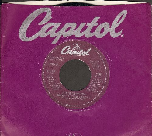 Newton, Juice - Break It To Me Gently/Adios Mi Corazon (with Capitol company sleeve) - NM9/ - 45 rpm Records