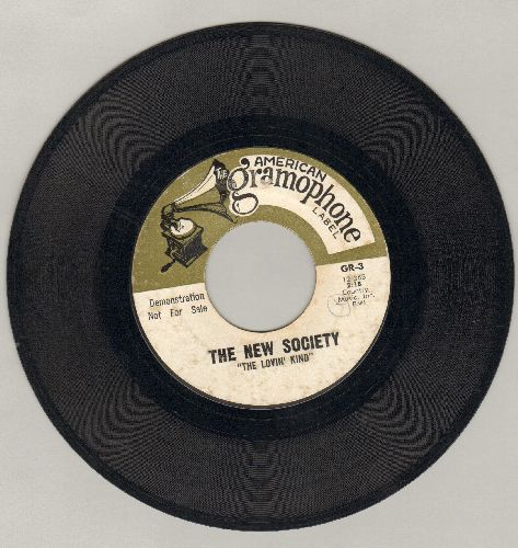 New Society - The Lovin' Kind/I'll Never See You Again - VG7/ - 45 rpm Records