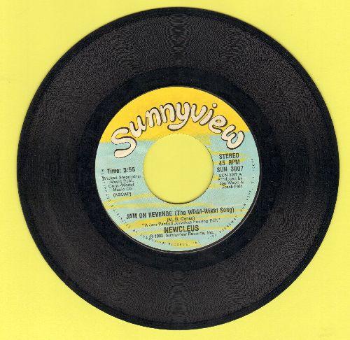 Newcleaus - Jam On Reveng (the Wikki-Wikki Song)/Jam On Revenge (The Wikki-Wikki Rap) - VG7/ - 45 rpm Records