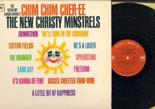 New Christy Minstrels - The Academy Award Winner Chim Chim Cher-ee: Downtown, We'll Sing In The Sunshine, Kisses Sweeter Than Wine (vinyl MONO LP record) - NM9/NM9 - LP Records