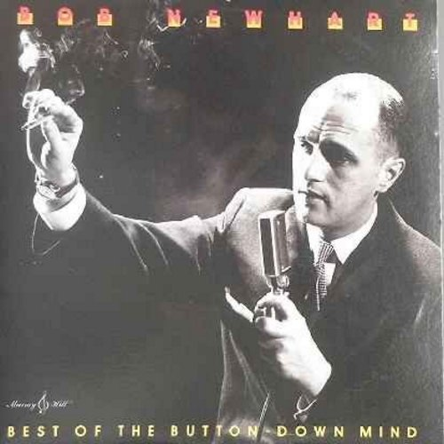 Newhart, Bob - The Button-Down Mind Strikes Back! - Automation, Retirement Party, Bus Drivers School, Ledge Psychology, and other classic comedy routines! - EX8/VG7 - LP Records