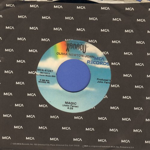 Newton-John, Olivia - Magic/Fool Country  - NM9/ - 45 rpm Records