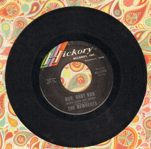 Newbeats - Run, Baby Run/Mean Woolly Willie  - NM9/ - 45 rpm Records