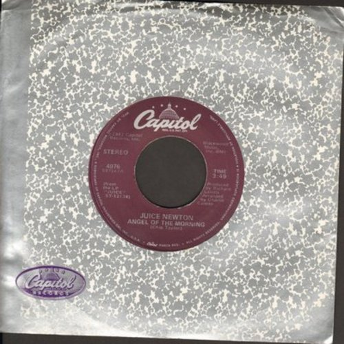 Newton, Juice - Angel Of Morning/Headin' For A Heartache  - EX8/ - 45 rpm Records