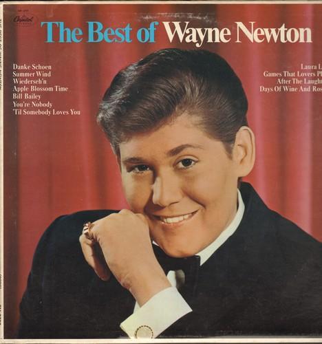Newton, Wayne - Best Of: Danke Schoen, Summer Wind, You're Nobody 'Til Somebody Loves You, Bill Bailey (vinyl STEREO LP record) - NM9/EX8 - LP Records