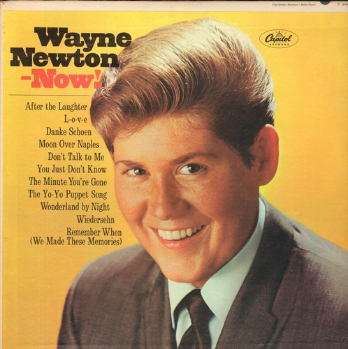 Newton, Wayne - Wayne Newton Now!: Danke Schoen, Moon over Naples, Wonderland By Night, Wiedersehn (vinyl MONO LP record) - NM9/NM9 - LP Records