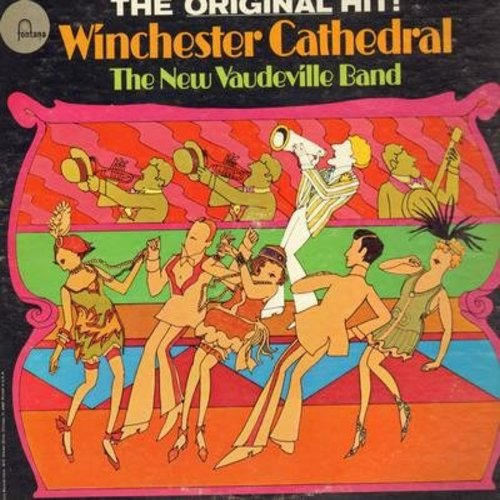 New Vaudeville Band - Winchester Cathedral: Lilli Marlene, Whatever Happened To Phyllis Puke?, A Nightingale Sang In Barkeley Square (vinyl STEREO LP record) - NM9/EX8 - LP Records