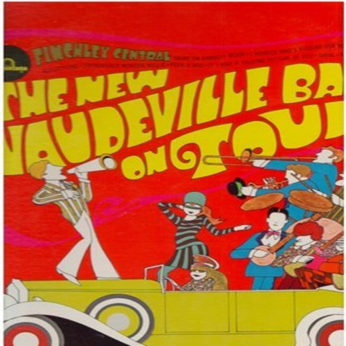 New Vaudeville Band - The New Vaudeville Band On Tour: Finchley Central, Amy, Thoroughly Modern Mkillie, Peek-A-Boo, Sadie Moonshine (vinyl STEREO LP record) - EX8/EX8 - LP Records