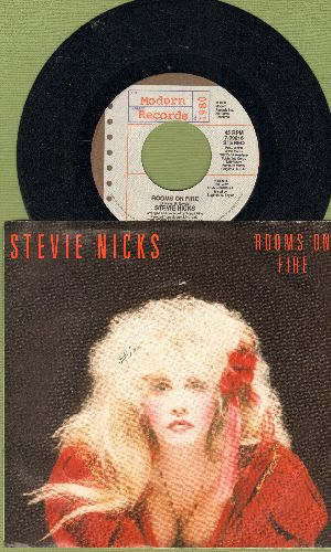 Nicks, Stevie - Rooms On Fire/Alice (with picture sleeve) - NM9/VG7 - 45 rpm Records