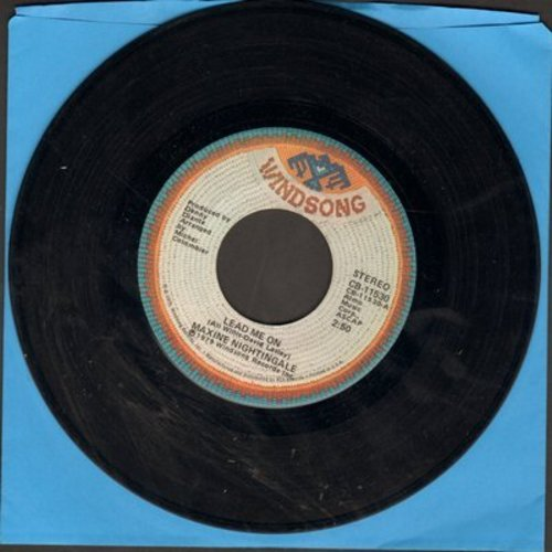 Nightingale, Maxine - Lead Me On/Love Me Like You Mean It - VG7/ - 45 rpm Records