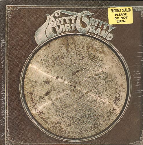 Nitty Gritty Dirt Band - Symphonion Dream: (All I Have To Do Is) Dream, Battle Of New Orleans, Hey Good Lookin' (vinyl STEREO LP record, SEALED, never opened!) - SEALED/SEALED - LP Records