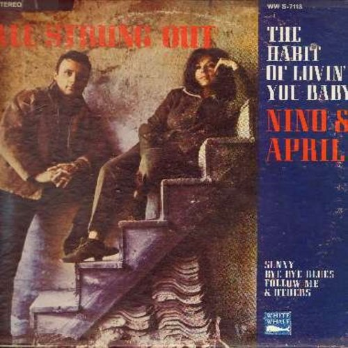 Tempo, Nino & April Stevens - All Strung Out: The Habit Of Lovin' You Baby, Sunny, Little Child, Out Of Nowhere, Wings Of Love, Bye Bye Blues (vinyl STEREO LP record) - NM9/VG6 - LP Records
