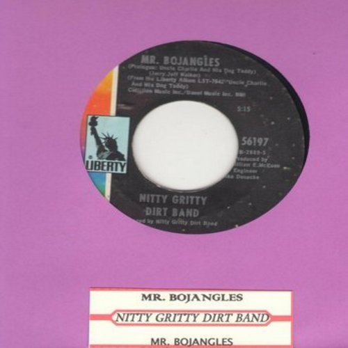 Nitty Gritty Dirt Band - Mr. Bojangles (Complete Version and Short Version of hit, with juke box label) - EX8/ - 45 rpm Records