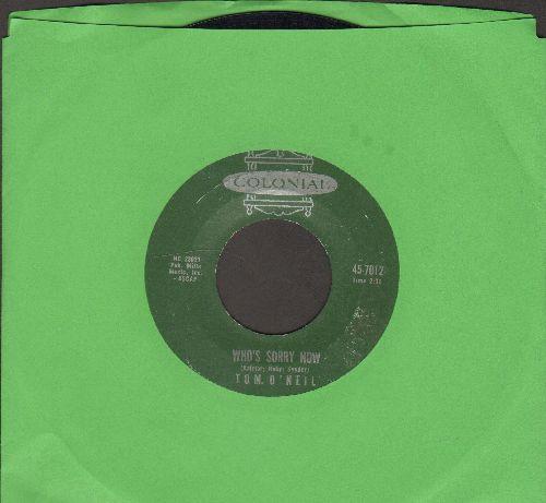O'Neil, Tom - Georgia On My Mind/Who's Sorry Now (BEAUTIFUL Harmonica Solo!) - EX8/ - 45 rpm Records