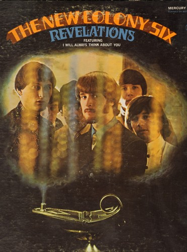 New Colony Six - Revelations: I Will Always Think About You, Treat Her Groovy, Things I'd Like To Say, Can't You See Me Cry 9vinyl STEREO LP record) - EX8/EX8 - LP Records