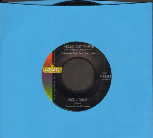Noble, Nick - Hello Out There/We Could - EX8/ - 45 rpm Records