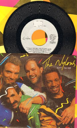 Nylons - Happy Together/Face In The Crowd (with picture sleeve) - M10/NM9 - 45 rpm Records