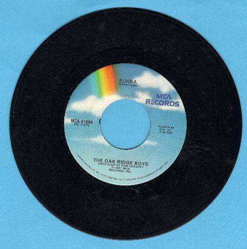 Oak Ridge Boys - Elvira (JUKE BOX FAVORITE!)/A Woman Like You  - NM9/ - 45 rpm Records