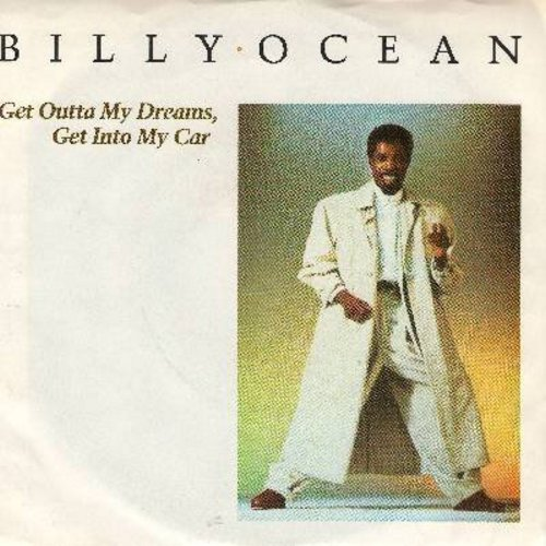 Ocean, Billy - Get Outta My Dreams, Get Into My Car/Showdown (with picture sleeve) - NM9/EX8 - 45 rpm Records