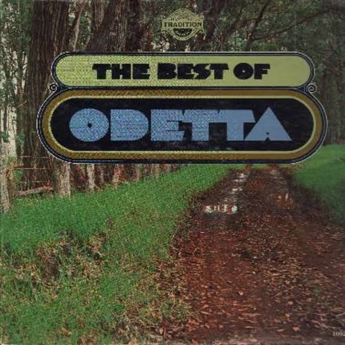 Odetta - Best Of Odetta: Muleskinner Blues, Joshua, Glory Glory, He's Got The Whole World In His Hands, Take This Hammer (vinyl LP record) - NM9/EX8 - LP Records