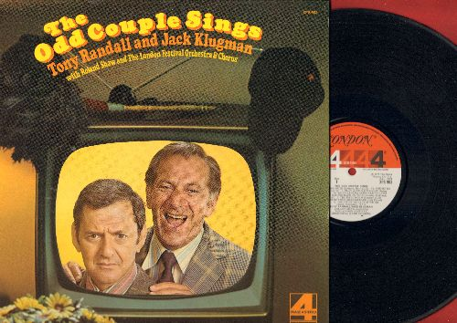 Klugman, Jack & Tony Randall - The Odd Couple Sings: Johnny One Note, You're So Vain, Together Wherever We Go, The Odd Couple Opera. Friendship (RARE Novelty album in Phase4 STEREO!) - M10/NM9 - LP Records