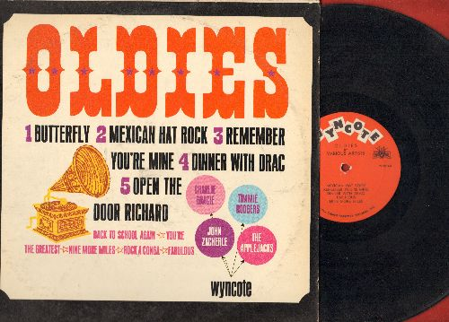 Gracie, Charlie, John Zacherle, Applejacks, Timmie Rodgers - Oldies: Butterfly, Dinner With Drac, Open The Door Richard, Rocka Conga (vinyl MONO LP record) - NM9/EX8 - LP Records