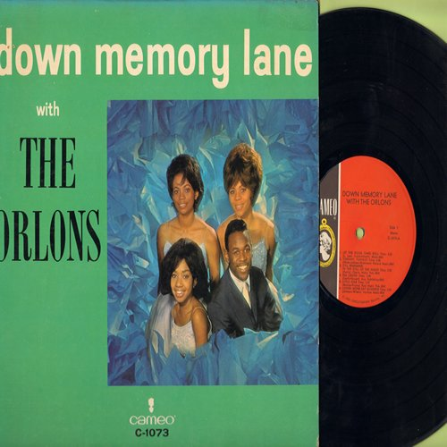 Orlons - Down Memory Lane with The Orlons: In The Still Of The Night, Sea Cruise, Little Star, Come Go With Me, You Cheated, Diamonds And Pearls, Lovers Never Say Goodbye (vinyl MONO LP record) - EX8/EX8 - LP Records