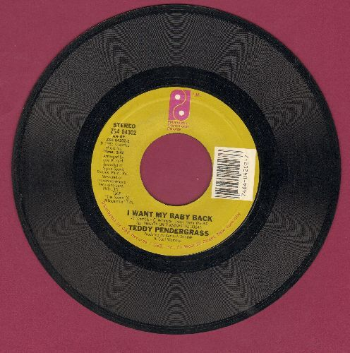 Pendergrass, Teddy - I Want My Baby Back/Life Is For The Living - NM9/ - 45 rpm Records