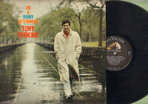 Perkins, Tony - On A Rainy Afternoon: Miss Otis Regrets, Darn That Dream, I remember You, The World Is Your Balloon (vinyl MONO LP record) - NM9/EX8 - LP Records