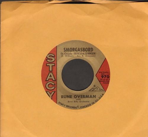 Overman, Rune - Smorgasboad/Beatnik Walk - NM9/ - 45 rpm Records