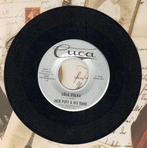 Poff, Jack & His Band - Lola Polka/Gay Nights In Vienna - EX8/ - 45 rpm Records