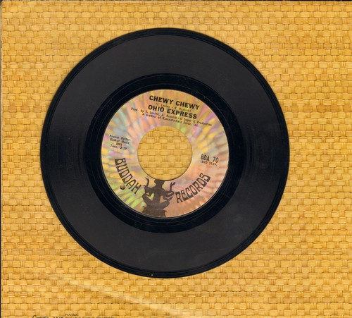 Ohio Express - Chewy Chewy/Firebird (bb) - EX8/ - 45 rpm Records