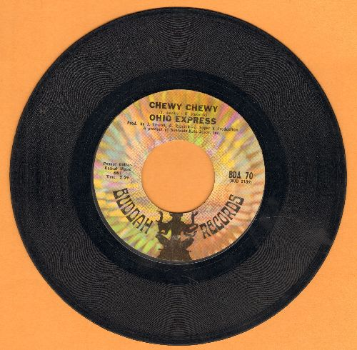 Ohio Express - Chewy Chewy/Firebird (bb) - VG7/ - 45 rpm Records