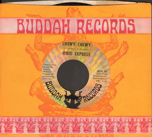 Ohio Express - Chewy Chewy/Firebird (with Buddah company sleeve) (bb) - NM9/ - 45 rpm Records