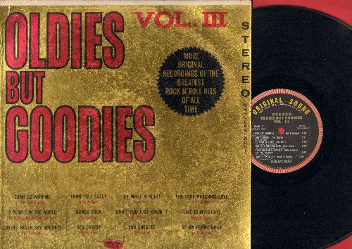 Flamingos, Gene & Eunice, Dell-Vikings, Dells, others - Oldies But Goodies Vol. III: Lovers Never Say Goodbye, Come Go With Me, You Cheated, This Is My Story (vinyl STEREO LP record) - EX8/VG7 - LP Records
