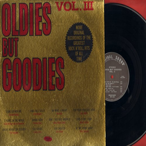 Flamingos, Gene & Eunice, Dell-Vikings, Dells, others - Oldies But Goodies Vol. III: Lovers Never Say Goodbye, Come Go With Me, You Cheated, This Is My Story (vinyl STEREO LP record) - NM9/EX8 - LP Records