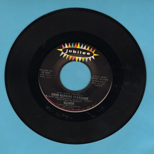 Oliver - Good Morning Starshine/Can't You See  - EX8/ - 45 rpm Records