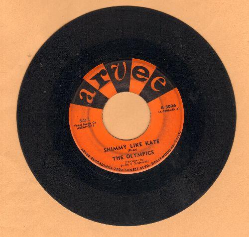 Olympics - Shimmy Like Kate/Workin' Hard  - VG7/ - 45 rpm Records