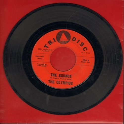 Olympics - The Bounce/Foreworks  - VG6/ - 45 rpm Records