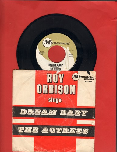 Orbison, Roy - Dream Baby/The Actress (with picture sleeve) - NM9/VG6 - 45 rpm Records