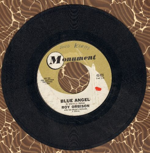 Orbison, Roy - Blue Angel/Today's Teardrops (minor wol) - VG7/ - 45 rpm Records