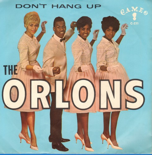 Orlons - Don't Hang Up/The Conservative (with picture sleeve) - NM9/EX8 - 45 rpm Records
