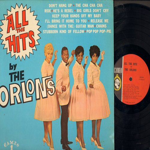 Orlons - All The Hits: Big Girls Don't Cry, He's A Rebel, The Cha Cha Cha, Ride, Don't Hang Up (vinyl MONO LP record) - EX8/VG7 - LP Records