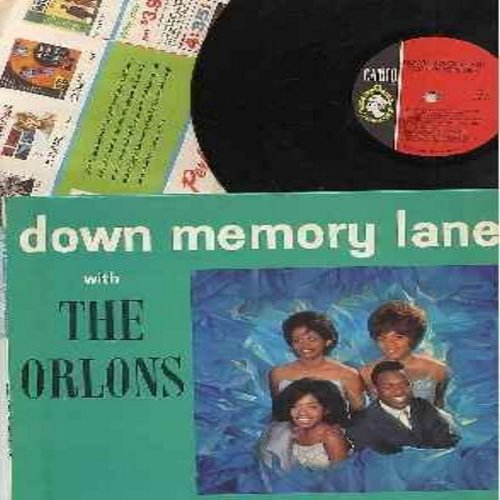 Orlons - Down Memory Lane with The Orlons: In The Still Of The Night, Sea Cruise, Little Star, Come Go With Me, You Cheated, Diamonds And Pearls, Lovers Never Say Goodbye (vinyl MONO LP record, with RARE Cameo label inside sleeve, NICE condition!) - NM9/N
