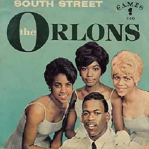 Orlons - South Street/Them Terrible Boots (with picture sleeve) - EX8/VG6 - 45 rpm Records