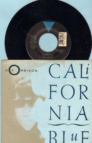 Orbison, Roy - California Blue/In Dreams (with picture sleeve) - NM9/EX8 - 45 rpm Records