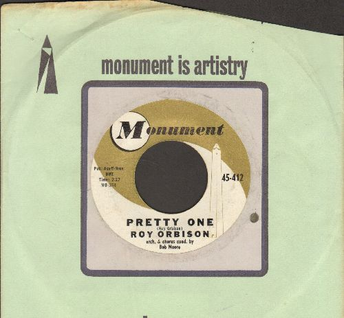 Orbison, Roy - Uptown/Pretty One (with Monument company sleeve) - EX8/ - 45 rpm Records