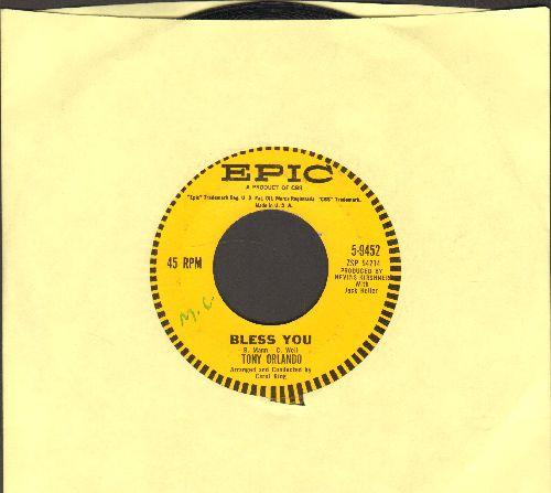 Orlando, Tony - Bless You/Am I The Guy  - VG7/ - 45 rpm Records