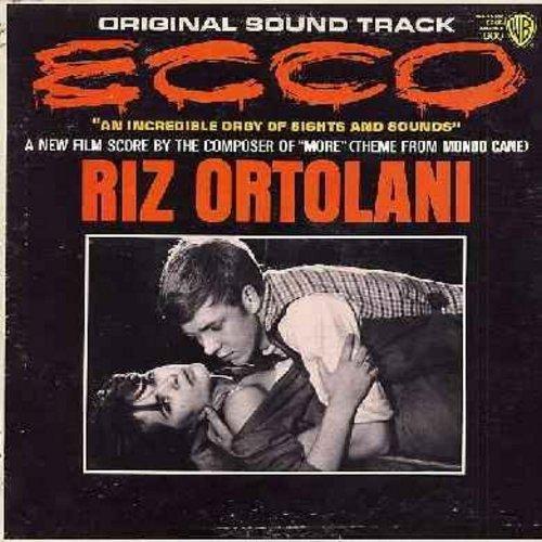 Ecco - Ecco - Original Motion Picture Sound Track, Score composed by Riz Ortolani (vinyl MONO LP record) - M10/EX8 - LP Records